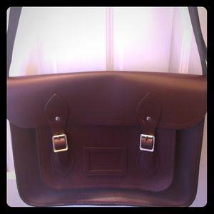 Oxblood Cambridge Satchel Bag